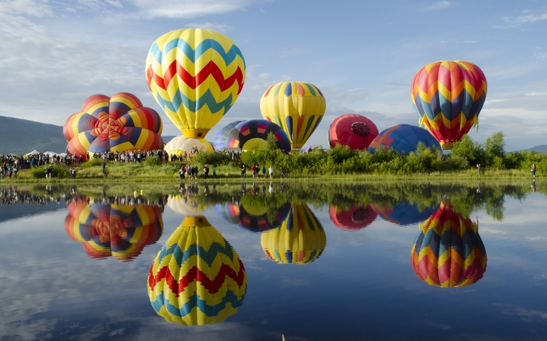 Steamboat Springs Balloon Rodeo