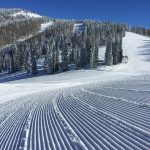 Freshly Groomed Slopes