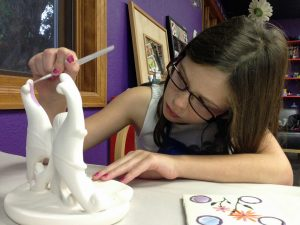 Steamboat Springs, Colorado, Pottery, Painting, Kids, Activity, Children, Fun