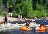 Summertime Fun Tubing the Yampa River