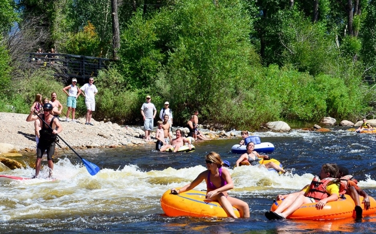 Summertime Fun Tubing the Yampa River